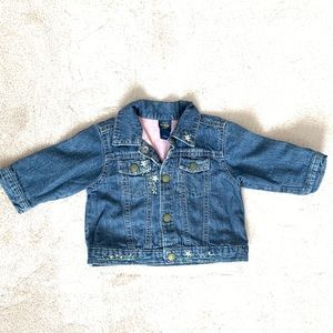 Osh Kosh embroidered Jean jacket